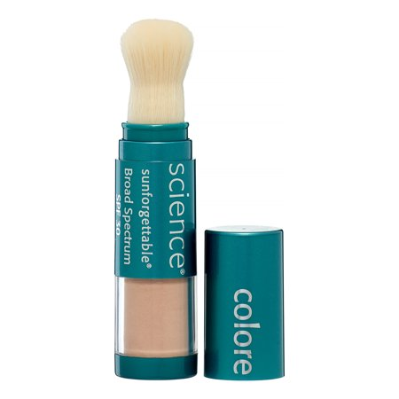 Colorescience Sunforgettable Brush-On Sunscreen Spf 30, Medium, 0.21 (Colorscience Sunforgettable Brush On Sunscreen With Spf)