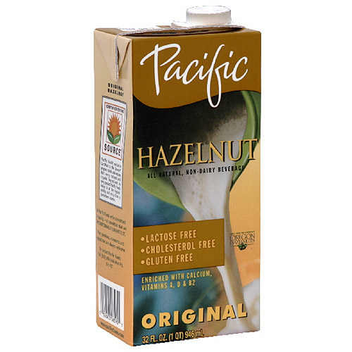 ***Discontinued by Kehe 05_27***Pacific Natural Foods Hazelnut Non-Dairy Beverage, 32 oz (Pack of 6)
