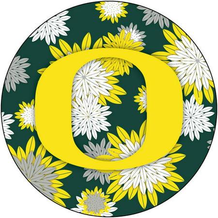 Oregon Ducks NCAA Collegiate Trendy Floral Flower Fashion Pattern 4