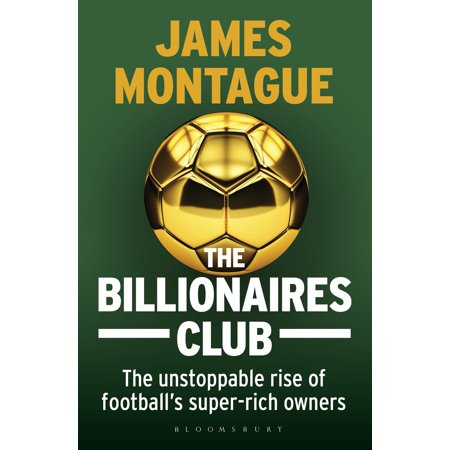 Football Resin Award - The Billionaires Club : The Unstoppable Rise of Football's Super-rich Owners WINNER FOOTBALL BOOK OF THE YEAR, SPORTS BOOK AWARDS 2018