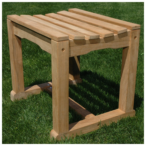 Regal Teak Teak Backless Garden Bench by Regal Teak