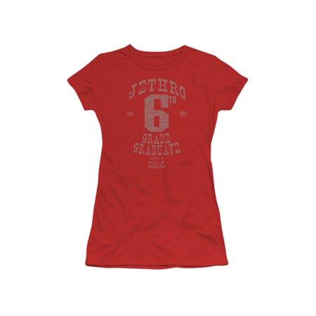 269304e38df992 2Bhip - Beverly Hillbillies 60's TV Series Mr 6Th Grade Grad Juniors Sheer  T-Shirt Tee - Walmart.com