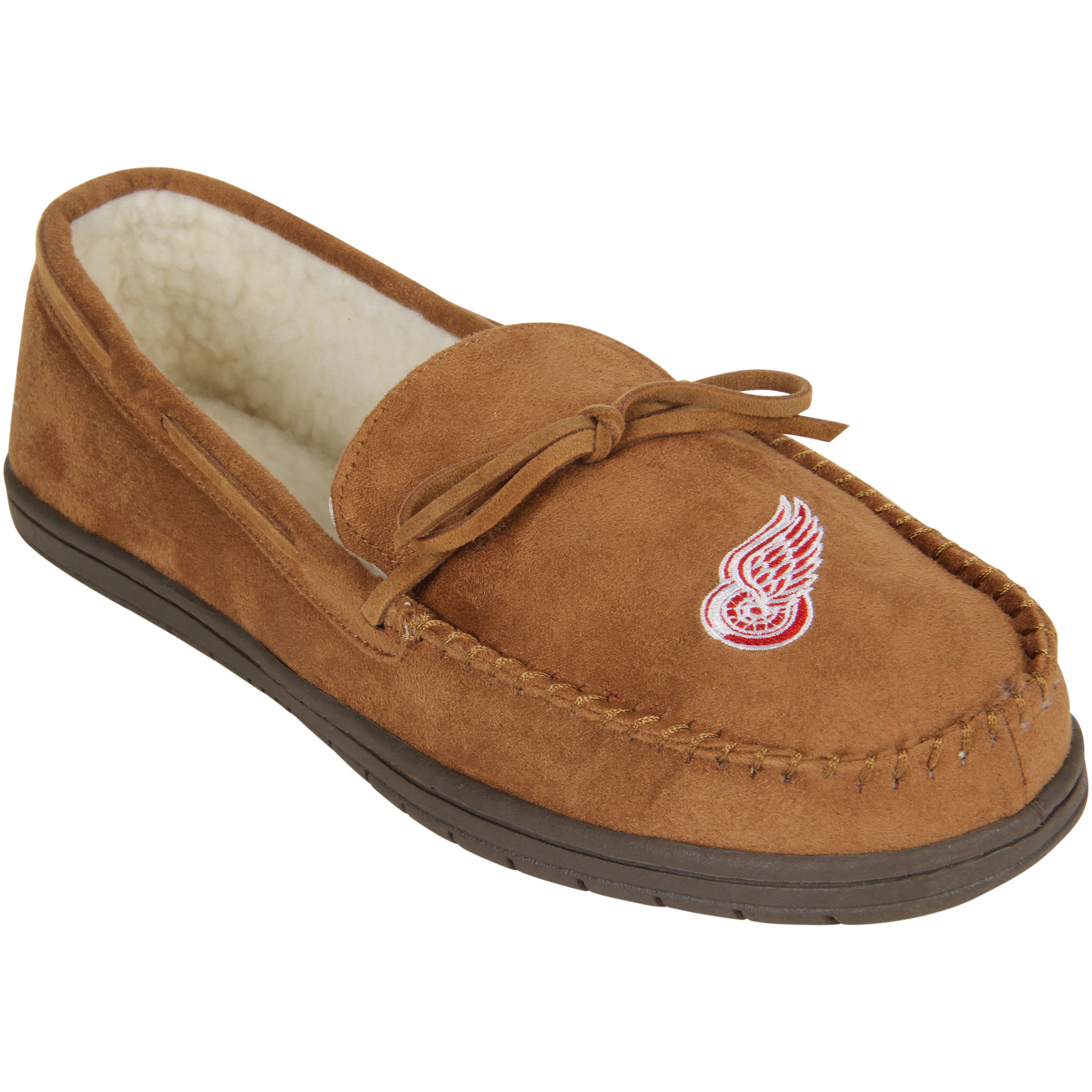 Detroit Red Wings Moccasin Slippers