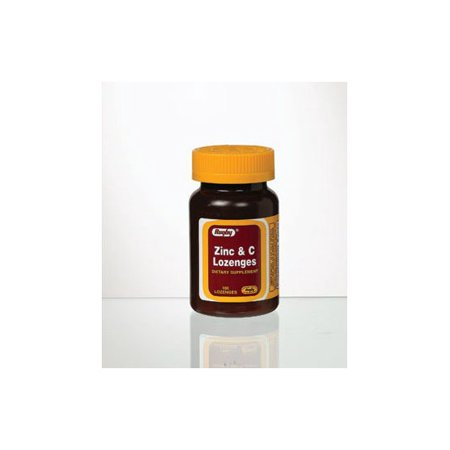 Rugby Zinc   Vitamin C Lozenges  100Ct 305367183015A277