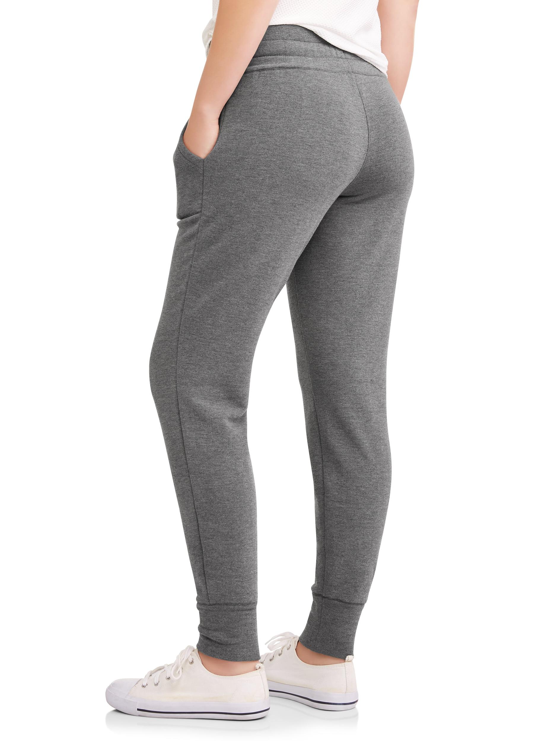 7e4d63287df9f Athletic Works - Women s Core Soft Fleece Jogger Pant with Front Pockets -  Walmart.com