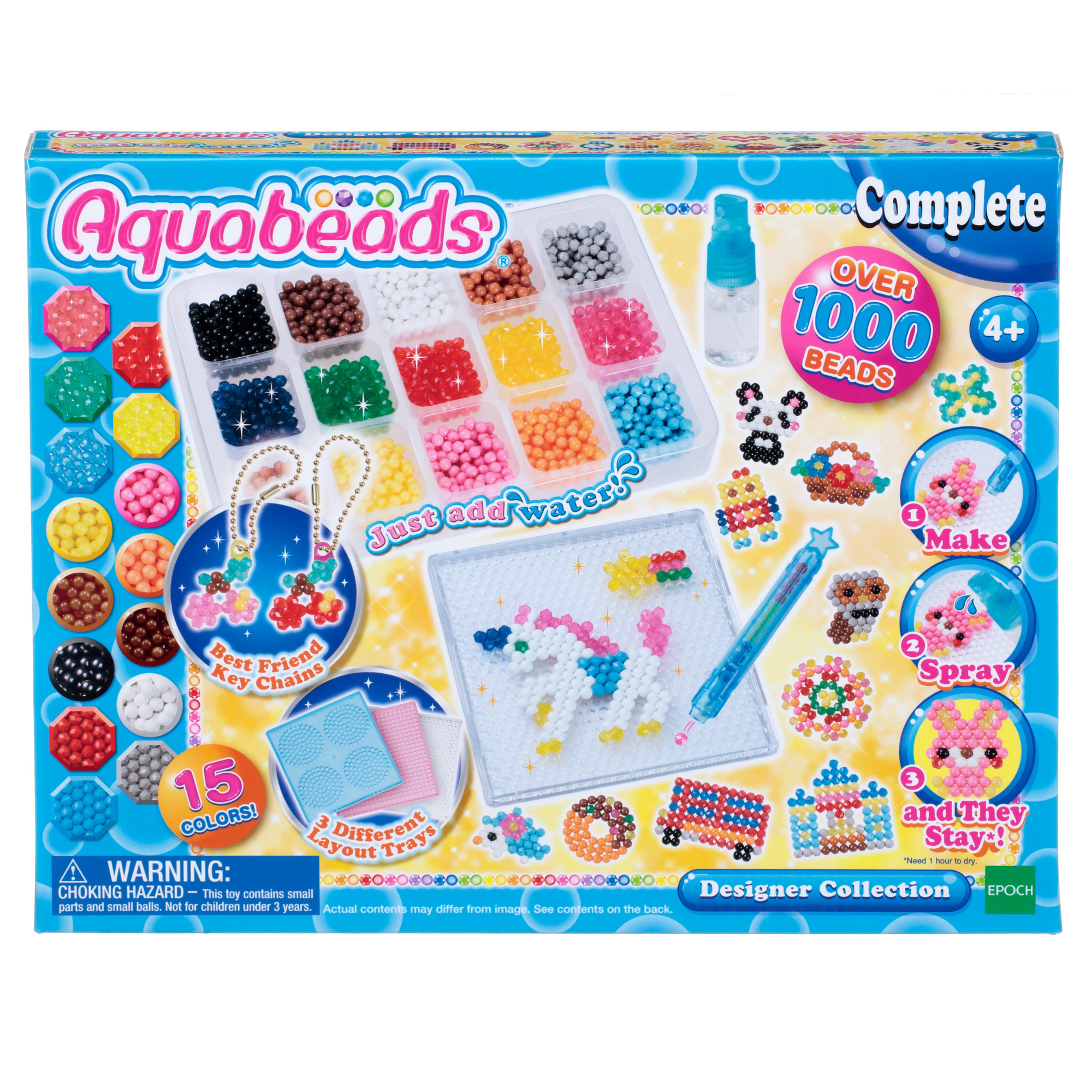 Aquabeads Designer Beads Collection Set: Endless Creations!