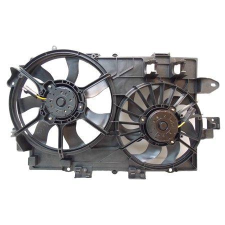 Sunbelt Radiator And Condenser Fan For Suzuki XL-7 Chevrolet Equinox GM3115226
