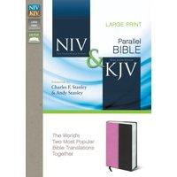 Side-By-Side Bible-PR-NIV/KJV-Large Print (Other)(Large Print)