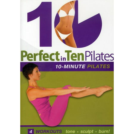 Perfect in Ten: Pilates 10-Minute Workouts (DVD)