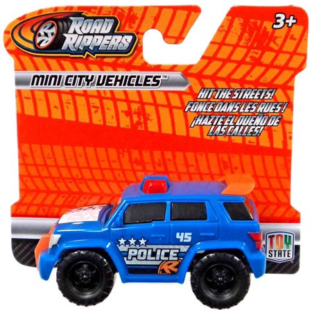 Road Rippers Police SUV Plastic Car](Plastic Cars)