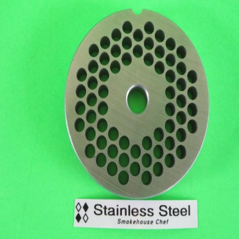 "#22 x 1 4"" STAINLESS STEEL Meat Grinder plate disc for Hobart LEM Cabelas Universal MTN & others by"