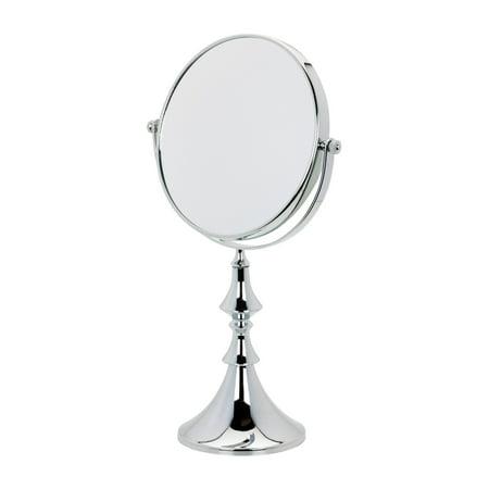 Danielle Christmas Stem Vanity 5x Chrome Mirror