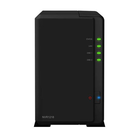 Synology Network Video Recorder NVR1218 w/ 12-Channel IP Cameras