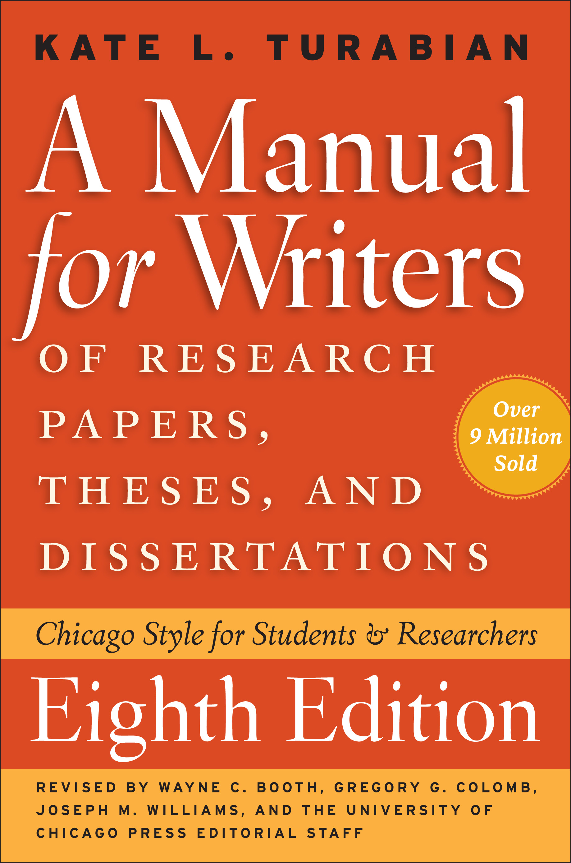 a manual for writers of research papers theses and dissertations rh walmart com Turabian Header Turabian Cover Page Template