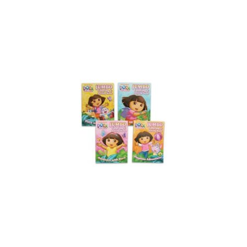 DDI 918248 Dora English Coloring Book 96 Pages Case Of 72 by Generic