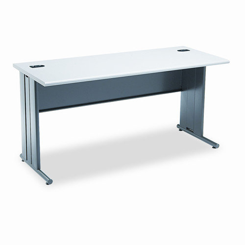 HON The Stationmaster Computer Desk, 60w x 24d x 29-1/2h, Gray Patterned