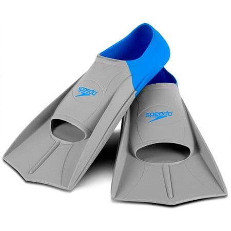 - Speedo Short Blade Swim Swimming Training Fins Soft Silicone Short Blade 7530412