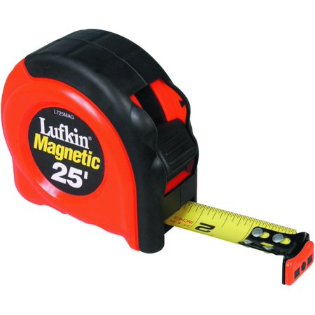 CRESCENT LUFKIN L725MAG 1 x 25 700 Seires Magnetic Yellow Clad Tape M