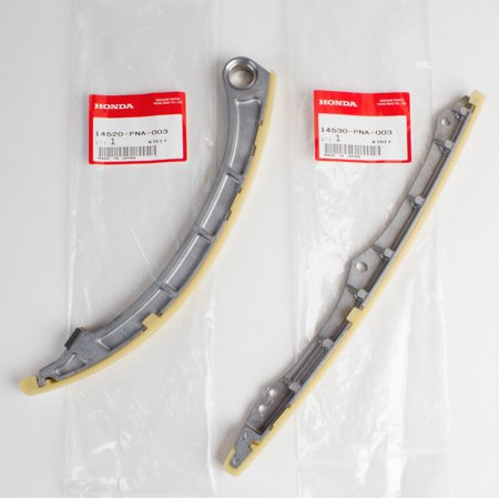Timing Chain Housing (Genuine OEM Honda Acura Timing Chain Guides 14520-PNA-003, 14530-PNA-003 )