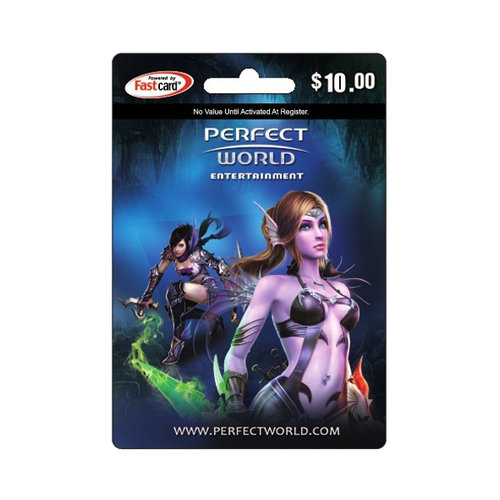 Perfect World $10 Card