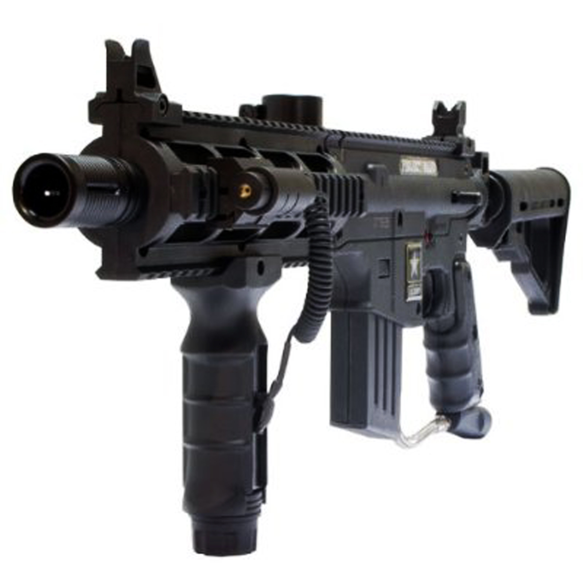 US Army Project Salvo Paintball Marker Gun 3Skull Close Quarters Set