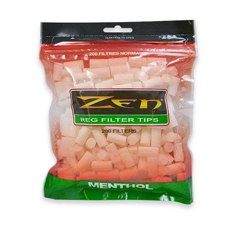 200 Regular Cigarette Menthol Filter Tips..., By Zen Ship from