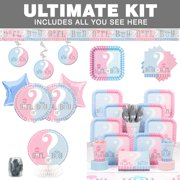 gender reveal ultimate kit serves 20 baby shower party supplies