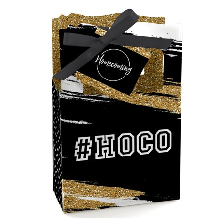 HOCO Dance - Homecoming Party Favor Boxes - Set of 12](Homecoming Party)