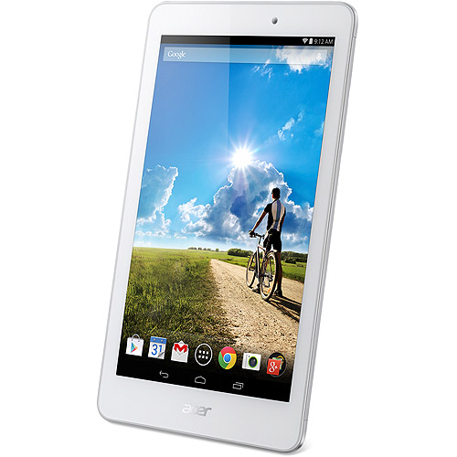 "Acer Iconia Tab 8 A1-840FHD-10G2 with WiFi 8"" Touchscreen Tablet PC Featuring  Android 4.4 (KitKat) Operating System, White"