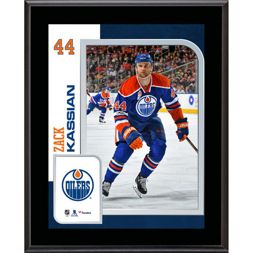 "Zack Kassian Edmonton Oilers 10.5"" x 13"" Sublimated Player Plaque - No Size"