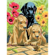 Paint By Number Junior: Labrador Puppies - 8.75 x 11.75 inches