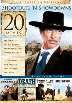 20-Film Great American Westerns: Shootouts 'N Showdowns (DVD) by Echo Bridge Home Entertainment