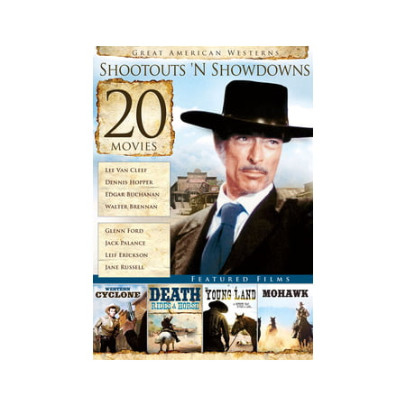 20-Film Great American Westerns: Shootouts 'N Showdowns (DVD)
