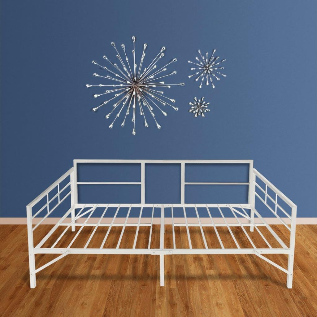 Best Price Mattress Easy Set-up Daybed TWIN – 100% steel ...