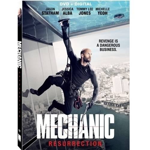 Mechanic: Resurrection (DVD   Digital) (with INSTAWATCH) (Widescreen)