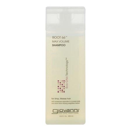 Dynamic Duo Shampoo - Giovanni Root 66 Max Volume Shampoo, 8.5 FL OZ