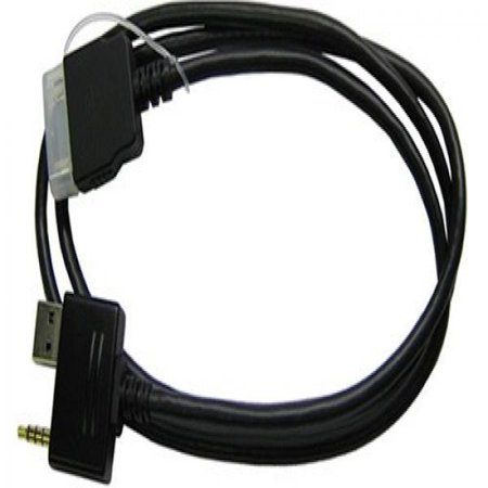 Clarion CCA691 iPod Audio/Video Control Interface Cable for VRX385USB, VRX575USB, (Video Interface Control)