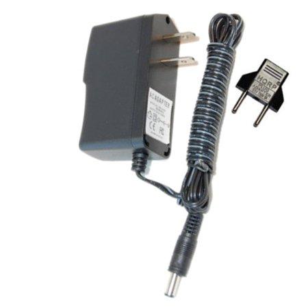 HQRP AC Adapter for Zoom GFX-707, GFX-1, GM-200, PFX-9003, GFX-5 Guitar  Effects Power Supply Cord + Euro Plug Adapter