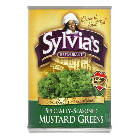 - Sylvia's Mustard Greens, 14.5 OZ (Pack of 12)