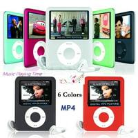 8GB-32GB Digital MP3 MP4 Player 1.8;quot; LCD Screen Video Game Movie Radio FM 3th