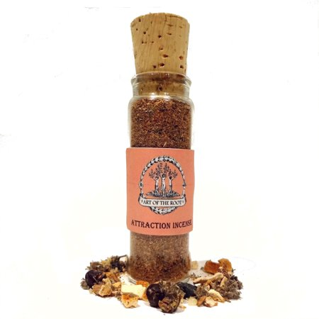 Attraction Incense 1.25 oz For Hoodoo, Voodoo, Wicca, & Pagan Rituals