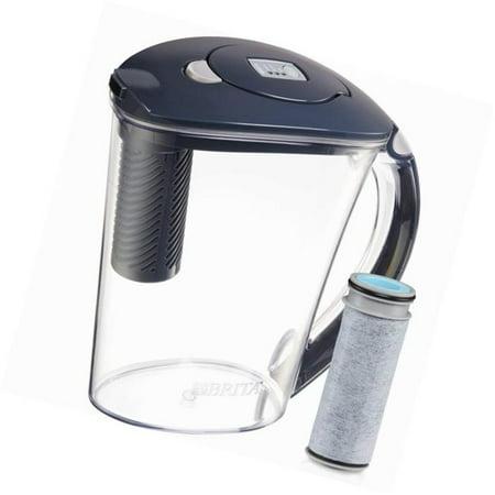 Brita 248512 10 Cup Carbon Gray Stream Filter Pitcher