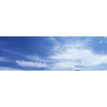 Image of Clouds Phoenix AZ USA Canvas Art - Panoramic Images (18 x 6)