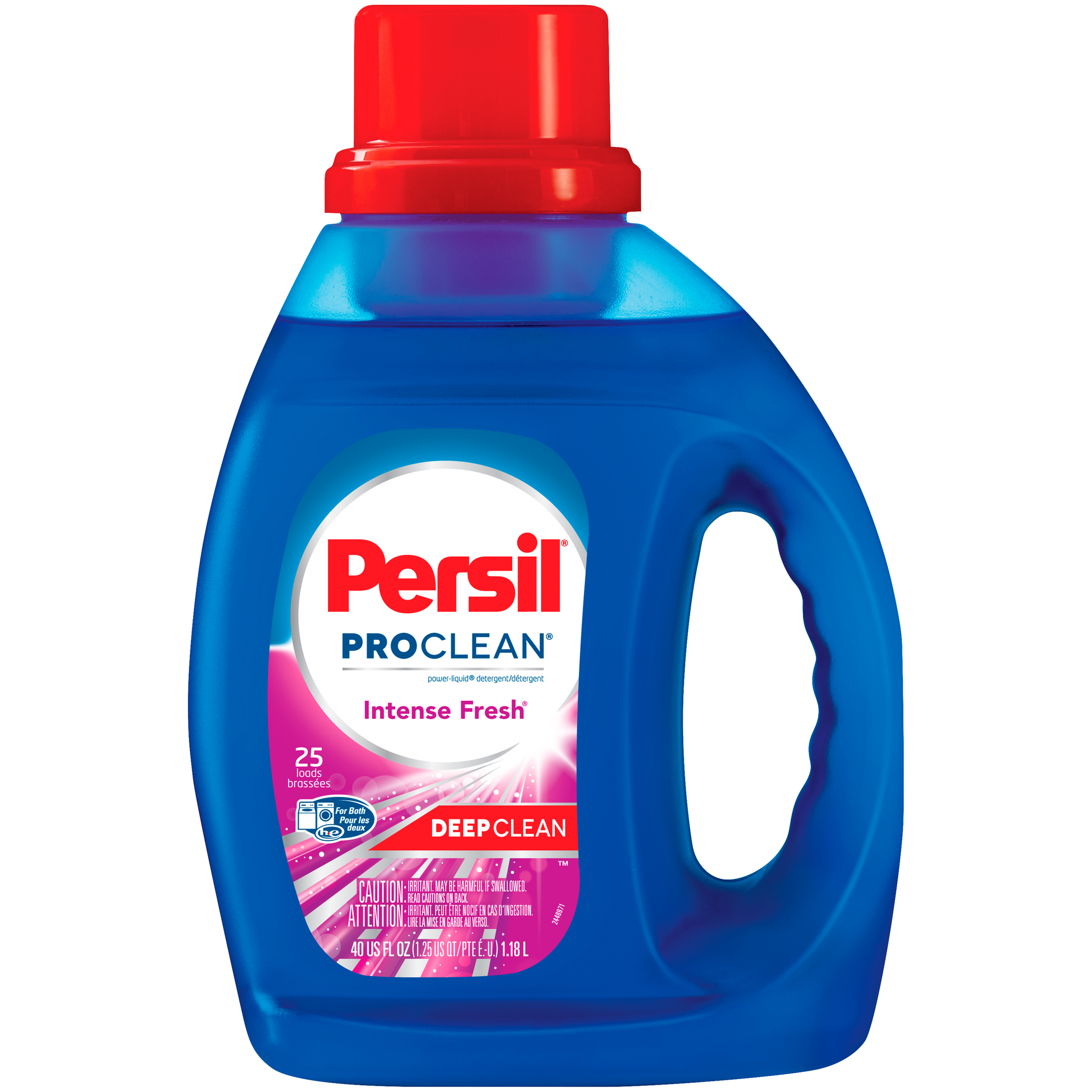 Persil ProClean Liquid Laundry Detergent, Intense Fresh, 40 Fluid Ounces, 25 Loads