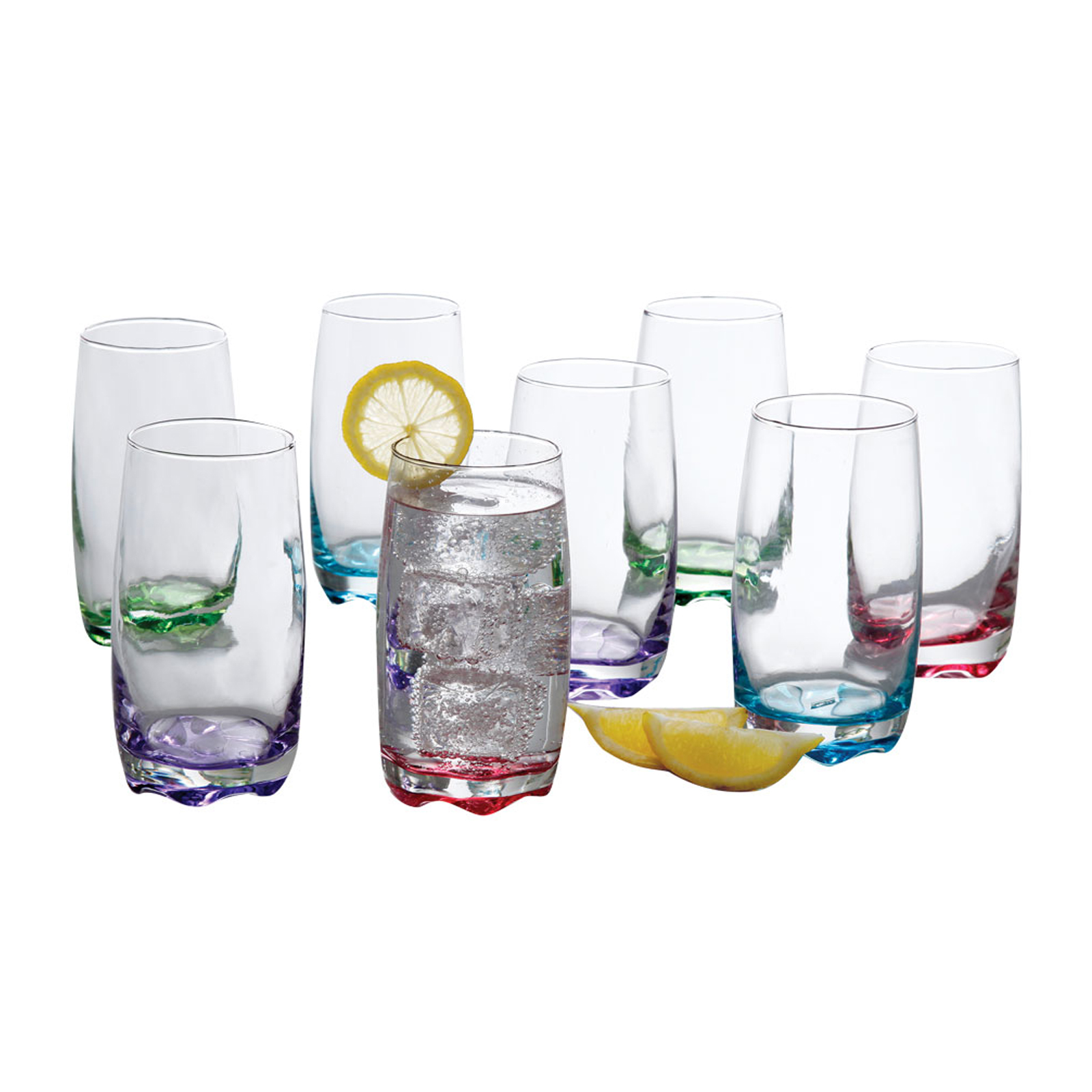 Gibson Karissa 8pc Glass Tumbler Set