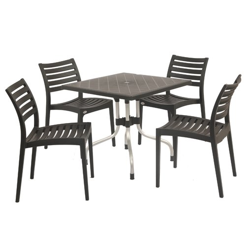 Brayden Studio Slezak 5 Piece Dining Set