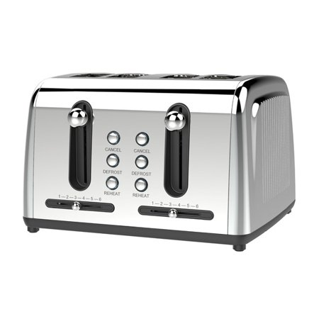 Brentwood® Appliances Extra Wide Slot 4-slice Toaster Brentwood Appliances TS-446S Extra Wide Slot 4-Slice Toaster This brentwood appliances extra wide slot 4-slice toaster is a high quality toasters item from our housewares & personal care , kitchen appliances & accessories , small appliances & accessories , toasters collections .