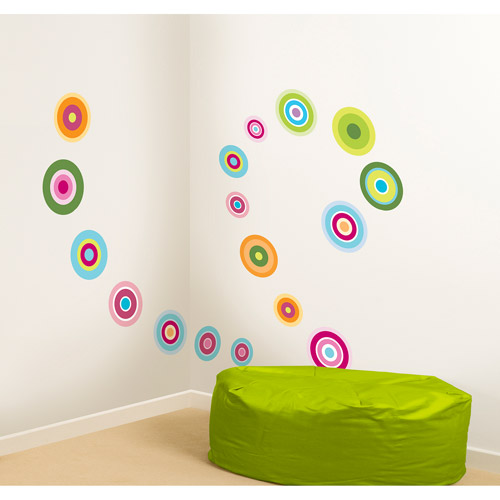 Fun4Walls Candy Dot Wall Stickers