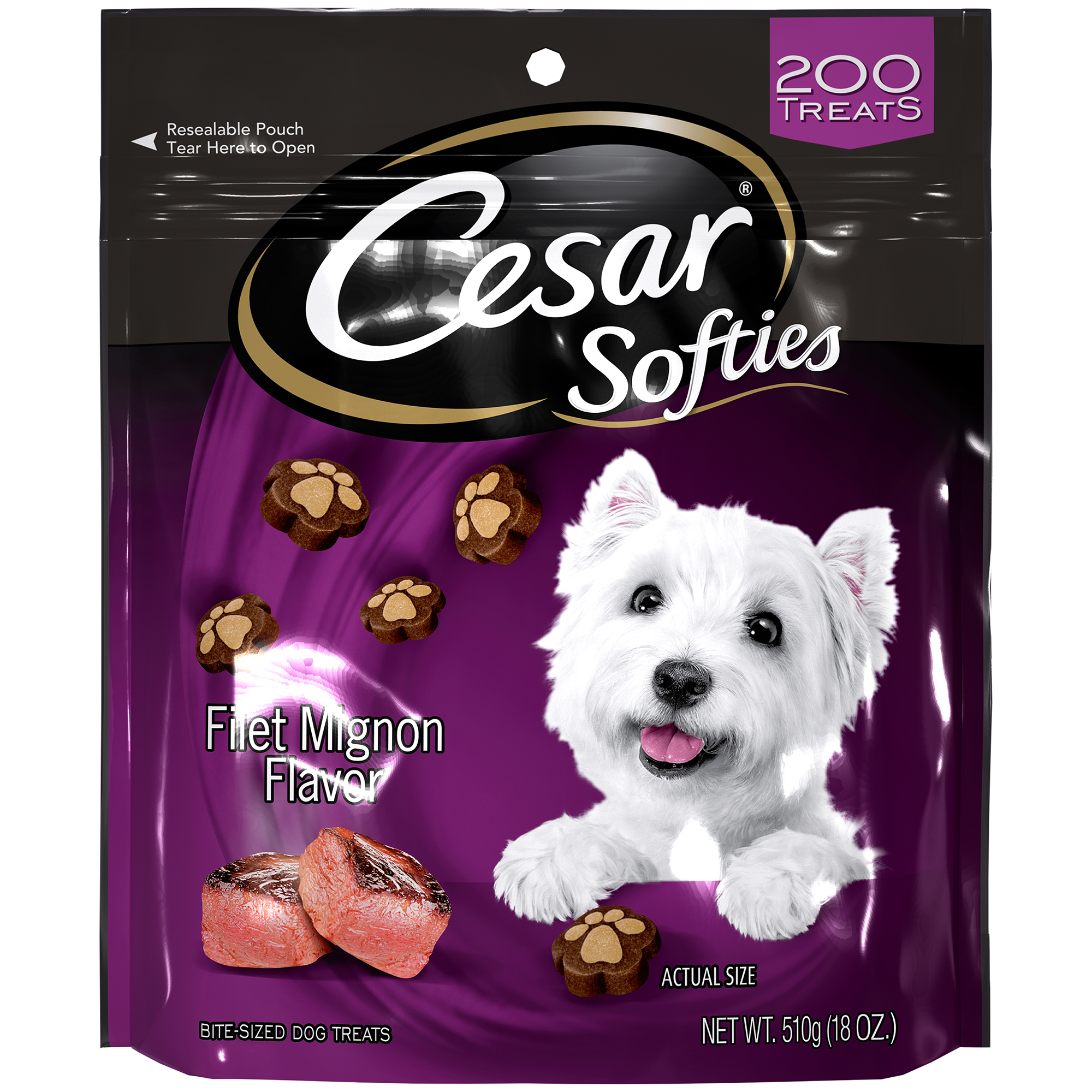 CESAR SOFTIES Filet Mignon Flavor Dog Treats 18 oz. by Mars Petcare