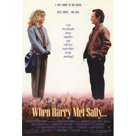When Harry Met Sally POSTER (27x40) (1989)](Halloween Liedjes Met Muziek)